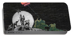 Banksy - The Tribute - New World Order Portable Battery Charger