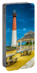 Portable Battery Charger featuring the photograph Barnegat Lighthouse Park by Nick Zelinsky