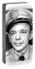 Barney Fife Portable Battery Charger