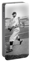 Baseball Star Walter Johnson Portable Battery Charger by Underwood Archives