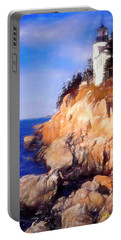 Bass Harbor Lighthouse,acadia Nat. Park Maine. Portable Battery Charger