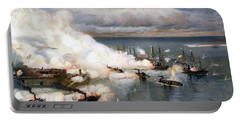 Battle Of Mobile Bay, 1864 Portable Battery Charger
