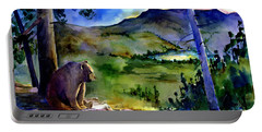 Bearly Light At Castle Peak Portable Battery Charger