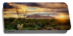 Beauty In The Desert Portable Battery Charger