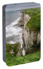 Bempton Cliffs Portable Battery Charger by Nigel Wooding