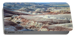 Bentonite Clay Dunes In Cathedral Valley Portable Battery Charger