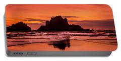 Big Sur Sunset Portable Battery Charger