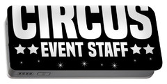 Birthday Circus Event Staff Carnival Party Apparel Portable Battery Charger