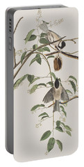 Black Capped Titmouse Portable Battery Charger