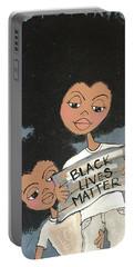 Black Lives Matter Portable Battery Charger
