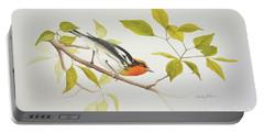 Blackburnian Warbler Portable Battery Charger