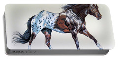Blanketed Appaloosa Portable Battery Charger