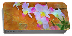 Portable Battery Charger featuring the painting Bloom by Wayne Pascall