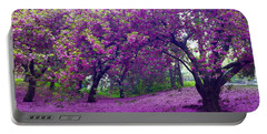 Blossoms In Central Park Portable Battery Charger