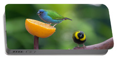 Blue-faced Parrotfinch Portable Battery Charger