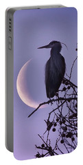 Blue Heron Moon Portable Battery Charger