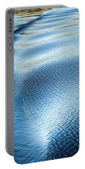 Portable Battery Charger featuring the photograph Blue On Blue by Karen Wiles