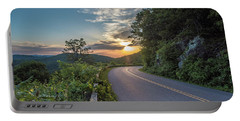 Blue Ridge Parkway Morning Sun Portable Battery Charger