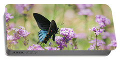 Blue Swallowtail Butterfly  Portable Battery Charger