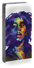 Bob Marley-for T-shirt Portable Battery Charger
