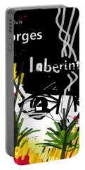 Borges' Labyrinths Poster Portable Battery Charger