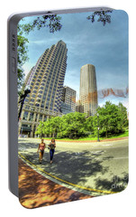 Portable Battery Charger featuring the photograph Boston by Adrian LaRoque