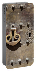 Brass Door Knocker Portable Battery Charger