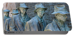 Bread Line Sculpture Portable Battery Charger