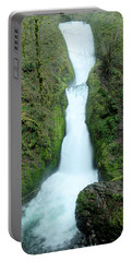 Portable Battery Charger featuring the photograph Bridal Veil Falls by Jeff Swan