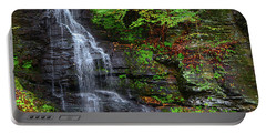 Portable Battery Charger featuring the photograph Bridal Veil Falls by Raymond Salani III