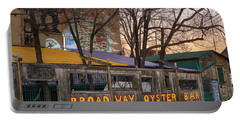 Broadway Oyster Bar Portable Battery Charger by Robert FERD Frank