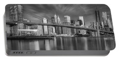 Brooklyn Bridge From Dumbo Portable Battery Charger