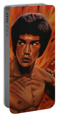 Bruce Lee Enter The Dragon Portable Battery Charger