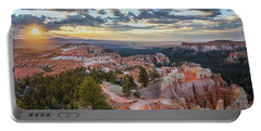 Bryce Canyon Sunrise Portable Battery Charger by JR Photography