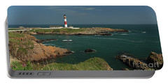 Buchan Ness Lighthouse And The North Sea Portable Battery Charger