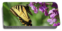 Butterfly Portable Battery Charger by David Stasiak
