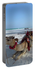 Camel On Beach Kenya Wedding Portable Battery Charger