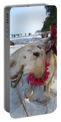 Camel On Beach Kenya Wedding3 Portable Battery Charger