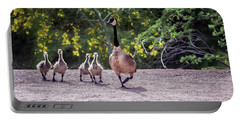 Canada Goose And Goslings 7581-042618-1 Portable Battery Charger