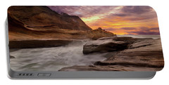 Cape Kiwanda Sunset Portable Battery Charger