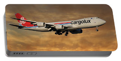 Cargolux Boeing 747-8r7 2 Portable Battery Charger