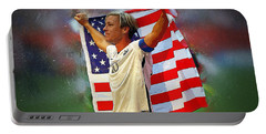 Abby Wambach Portable Battery Charger