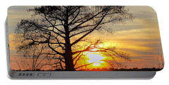 Carolina Sunset Portable Battery Charger by Victor Montgomery