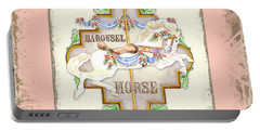 Carousel Dreams - Horse Portable Battery Charger