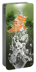 Carrot Splash Portable Battery Charger