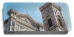 Cattedrale Di Santa Maria Del Fiore Is The Main Church Of Floren Portable Battery Charger