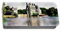 Portable Battery Charger featuring the photograph Chateau De La Bretesche, Missillac, France by Joseph Hendrix