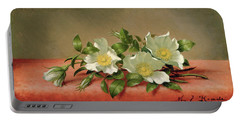 Cherokee Roses Portable Battery Charger