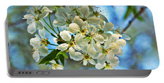Cherry Tree Flowers Portable Battery Charger