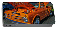 Chevy Stepside Portable Battery Charger by Victor Montgomery